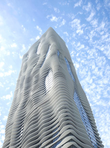 Aqua Tower, Foto: Steve Hall, © Hedrich Blessing