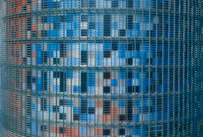 Torre Agbar, Foto: Philippe Ruault