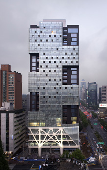 Missing Matrix Building, Foto: Yong-Kwan Kim