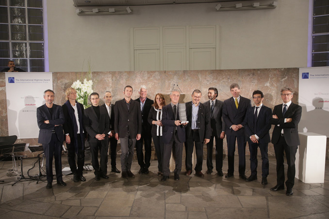 Prize winners and finalists, photo: Alexander Paul Englert
