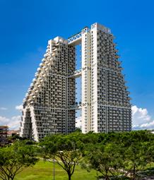 Sky Habitat © Foto: Safdie Architects, Edward Hendricks